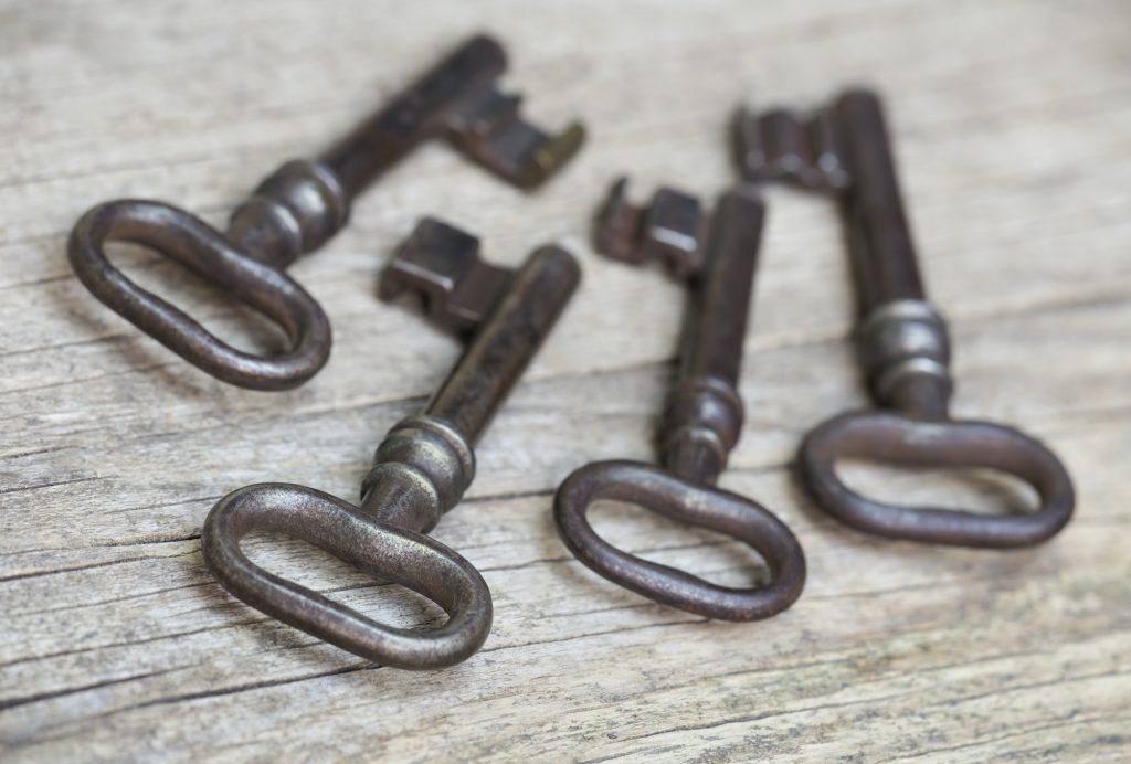 Cast iron keys