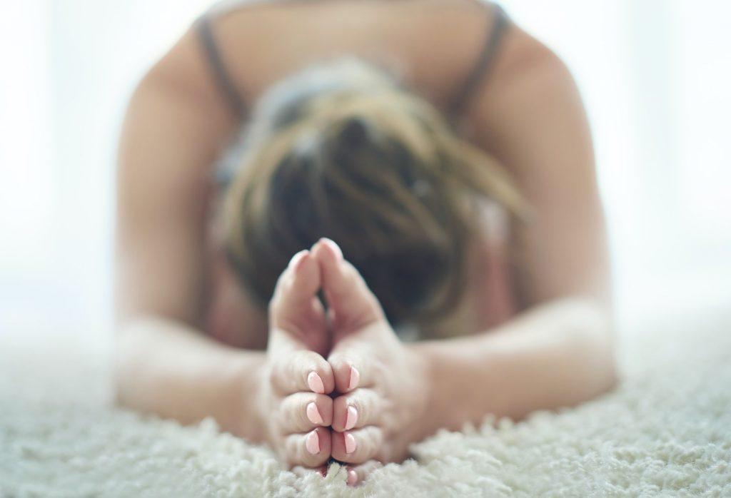 Stretching to the maximum training yoga